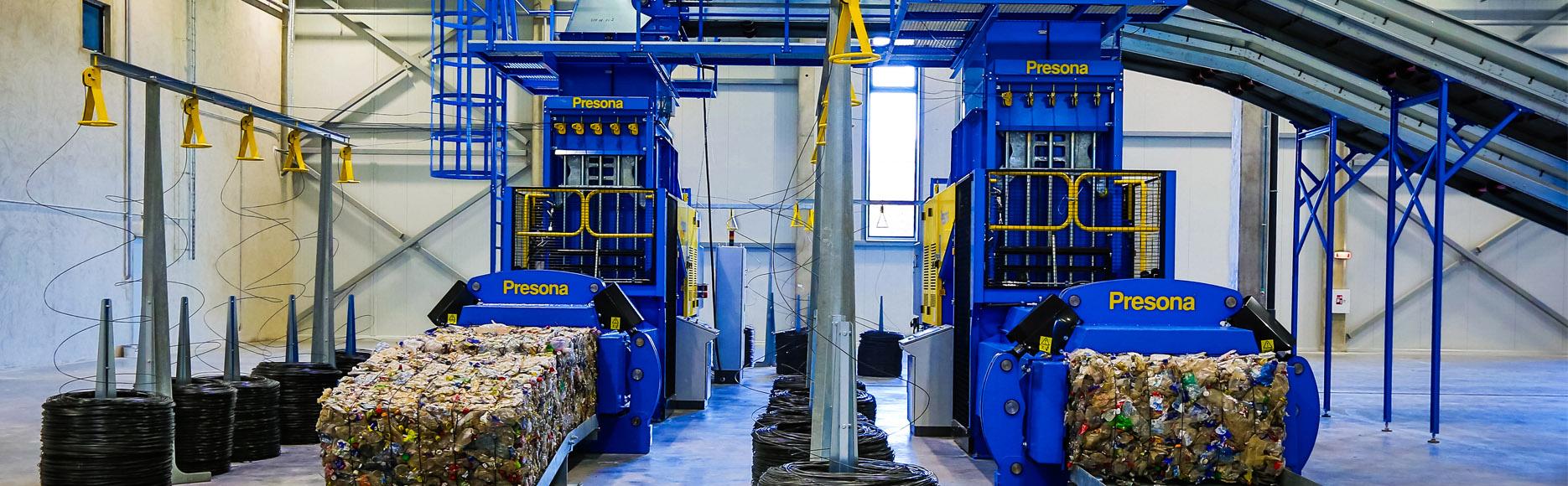 <p>&nbsp; Автоматический горизонтальный пресс для ТБО от европейского производителя Presona в Украине. Пресс изготовлен из Шведской износостойкой стали Hardox 500. Усилие прессования от 60 до 110 тонн. Вес тюка 1000 кг. Производительность от 10 до 22 тонн в час.</p>