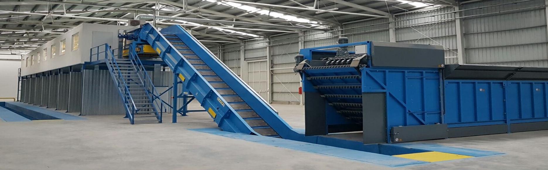 <p>Конвейерные решения для мусороперерабатывающей, горнодобывающей и других видов промышленности, где нужно транспортировать большие объёмы сыпучих материалов.</p>